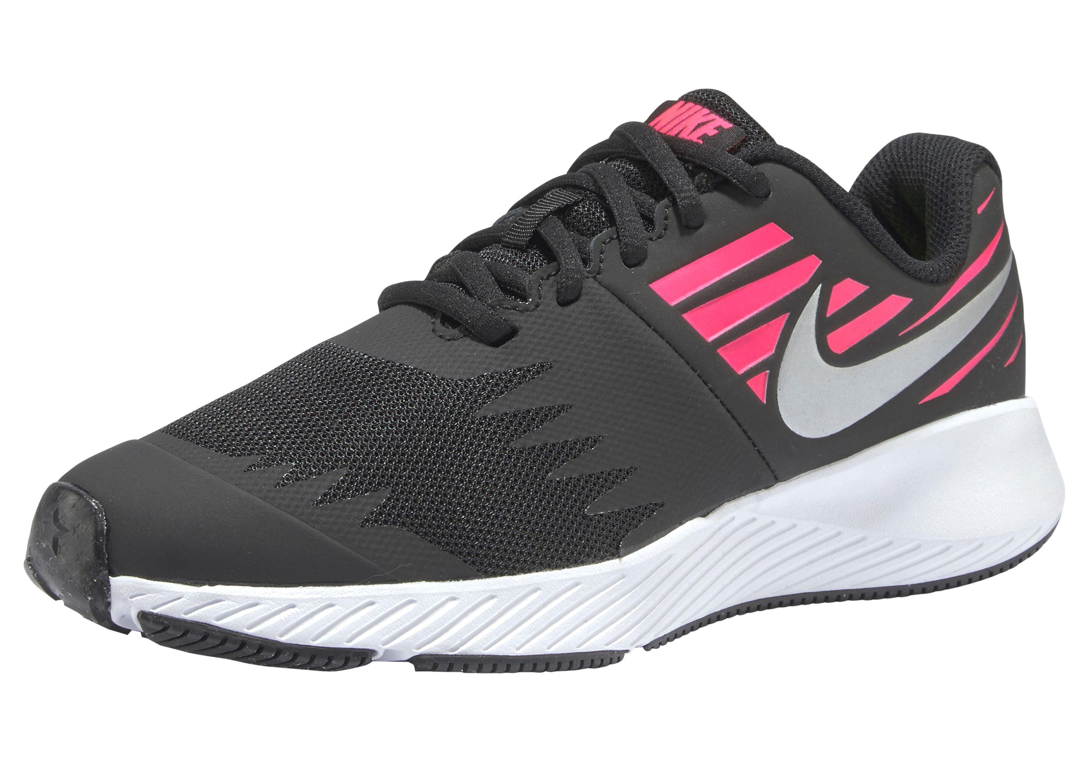 Nike Mädchen Star Runner (Gs) Laufschuhe, Schwarz: