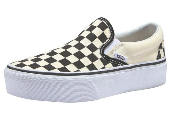 Vans »Checkerboard Classic Slip-On Platform« Plateausneaker