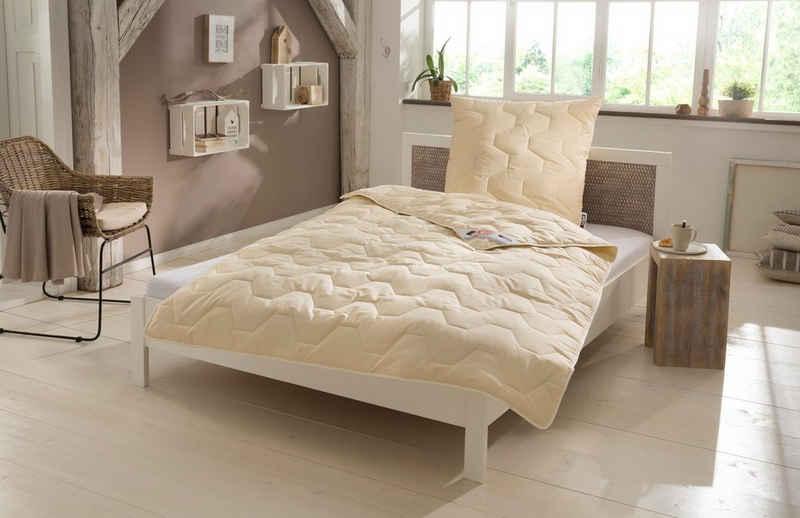 Naturfaserbettdecke, »Baumwolle 60 °C«, my home, Füllung: 100% Baumwolle, vorgekrumpft, Bezug: 100% Baumwolle, natürlich gut schlafen in reiner Baumwollqualität