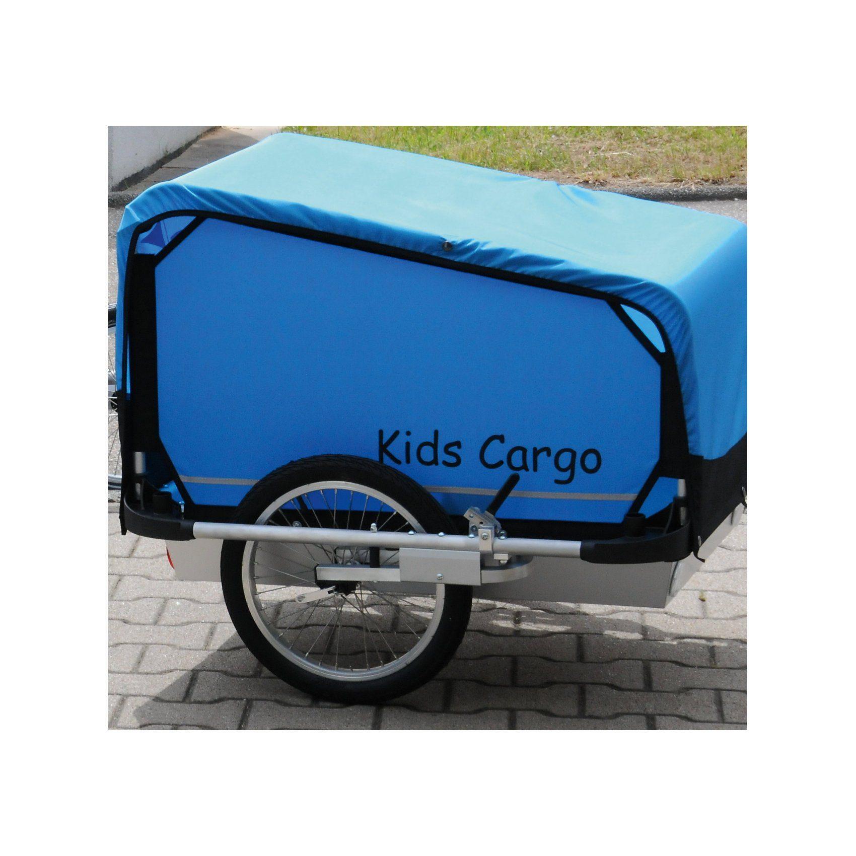 Kids Touring Fahrradanhänger KidsCargo M, blau