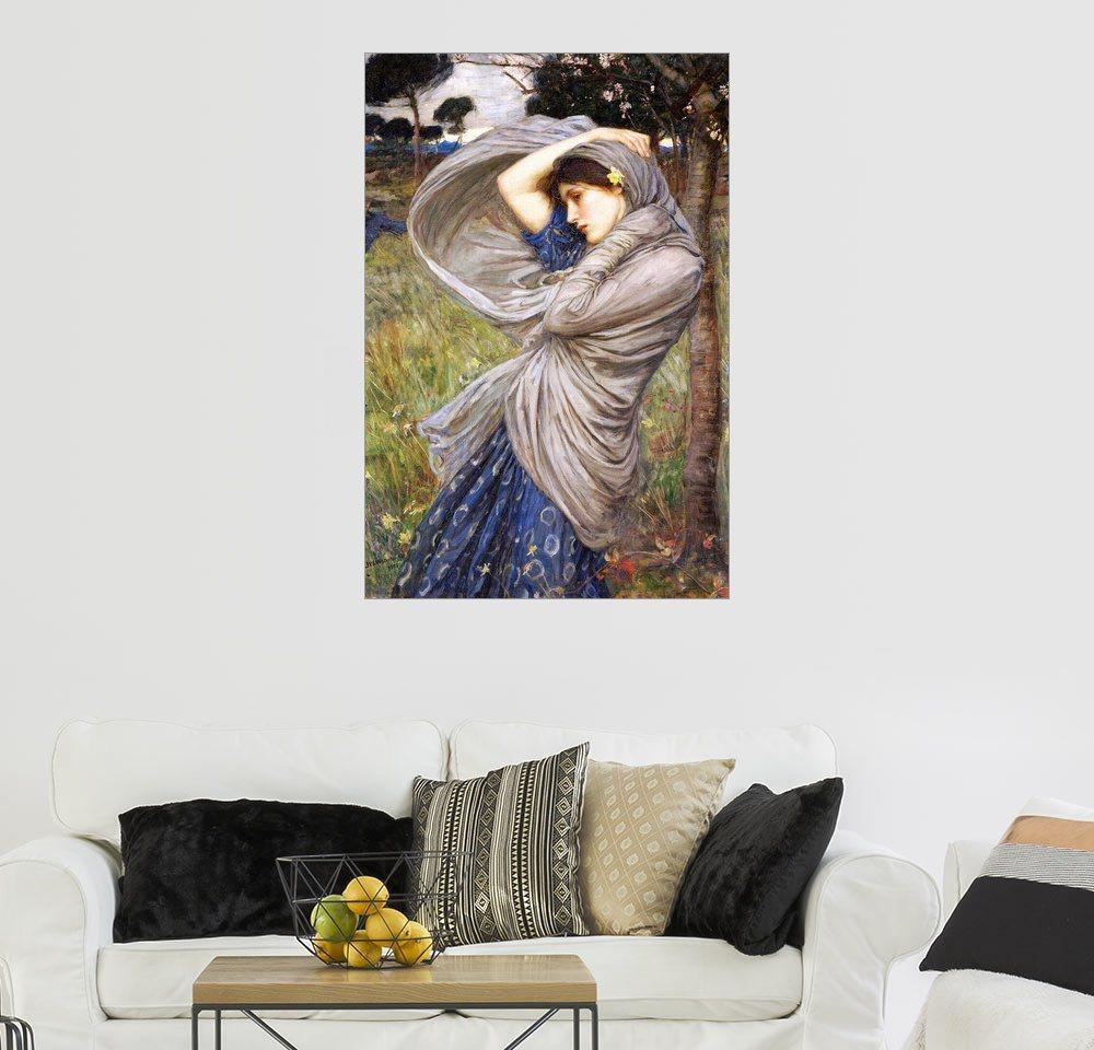 Posterlounge Wandbild   John William Waterhouse »Boreas«