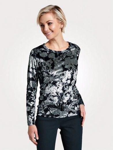 Mona Shirt aus feiner Samt-Qualität