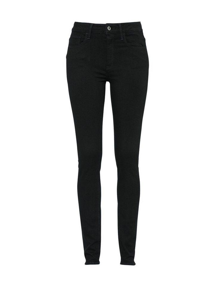 G-Star RAW High-waist-Jeans »3301 Deconst« | Bekleidung > Jeans > High Waist Jeans | Schwarz | G-Star RAW