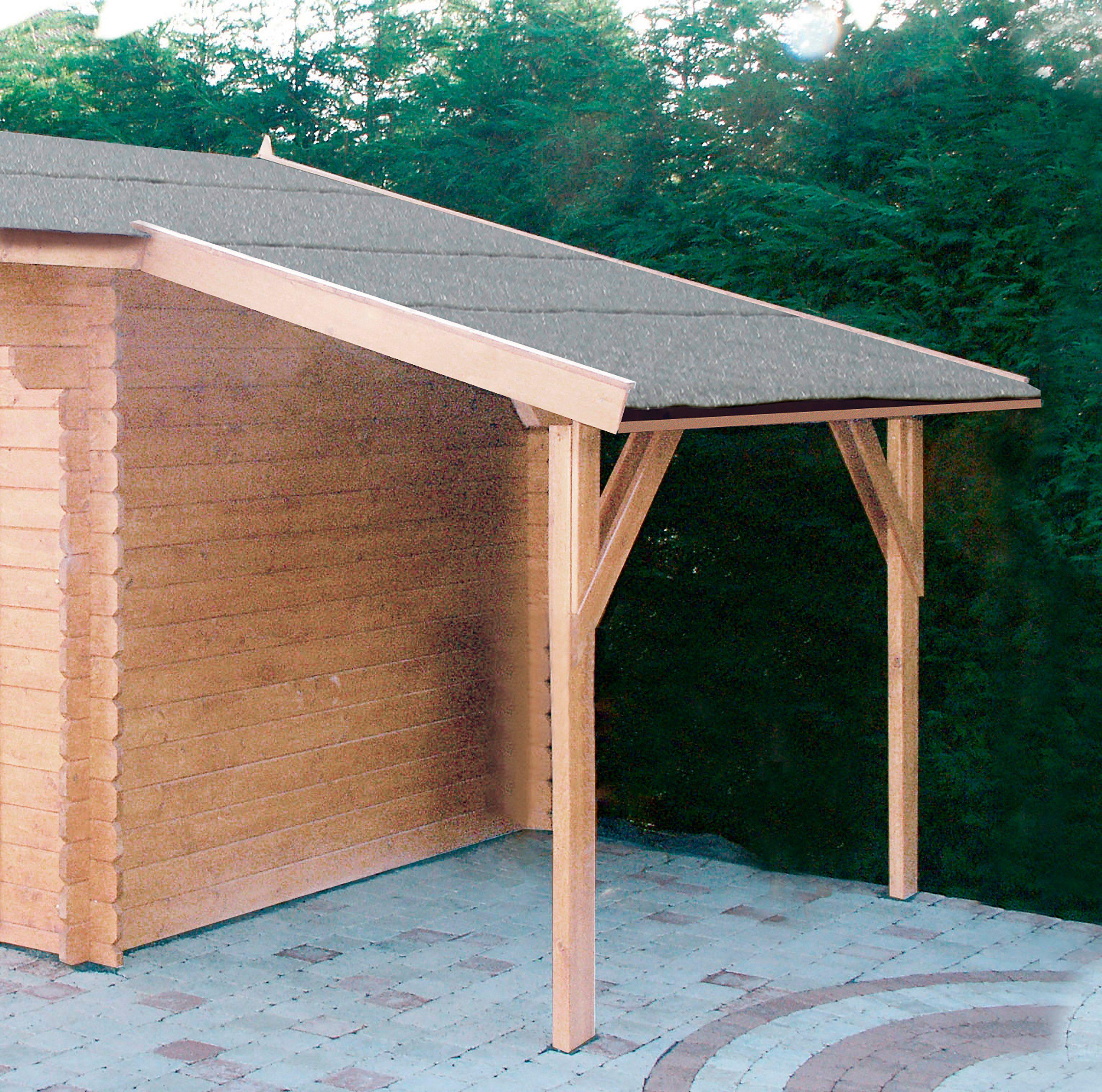 WOLFF Schleppdach , für Satteldachhäuser, BxT: 150x320 cm