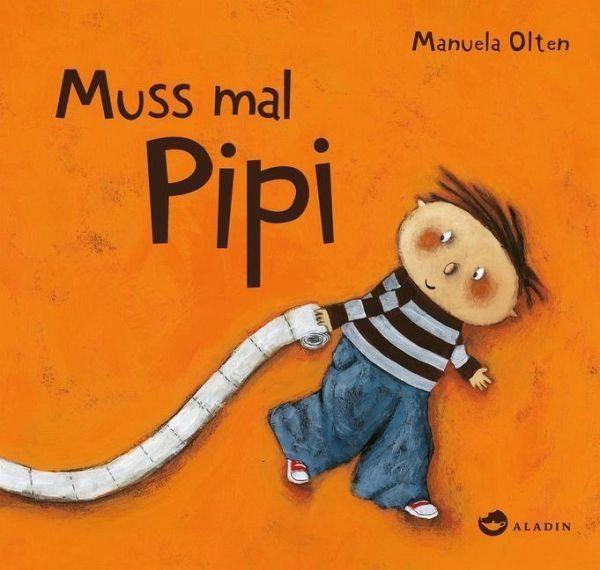 Buch mit Papp-Einband »Muss mal Pipi«