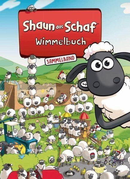 Gebundenes Buch »Shaun das Schaf Wimmelbuch - Der große...«