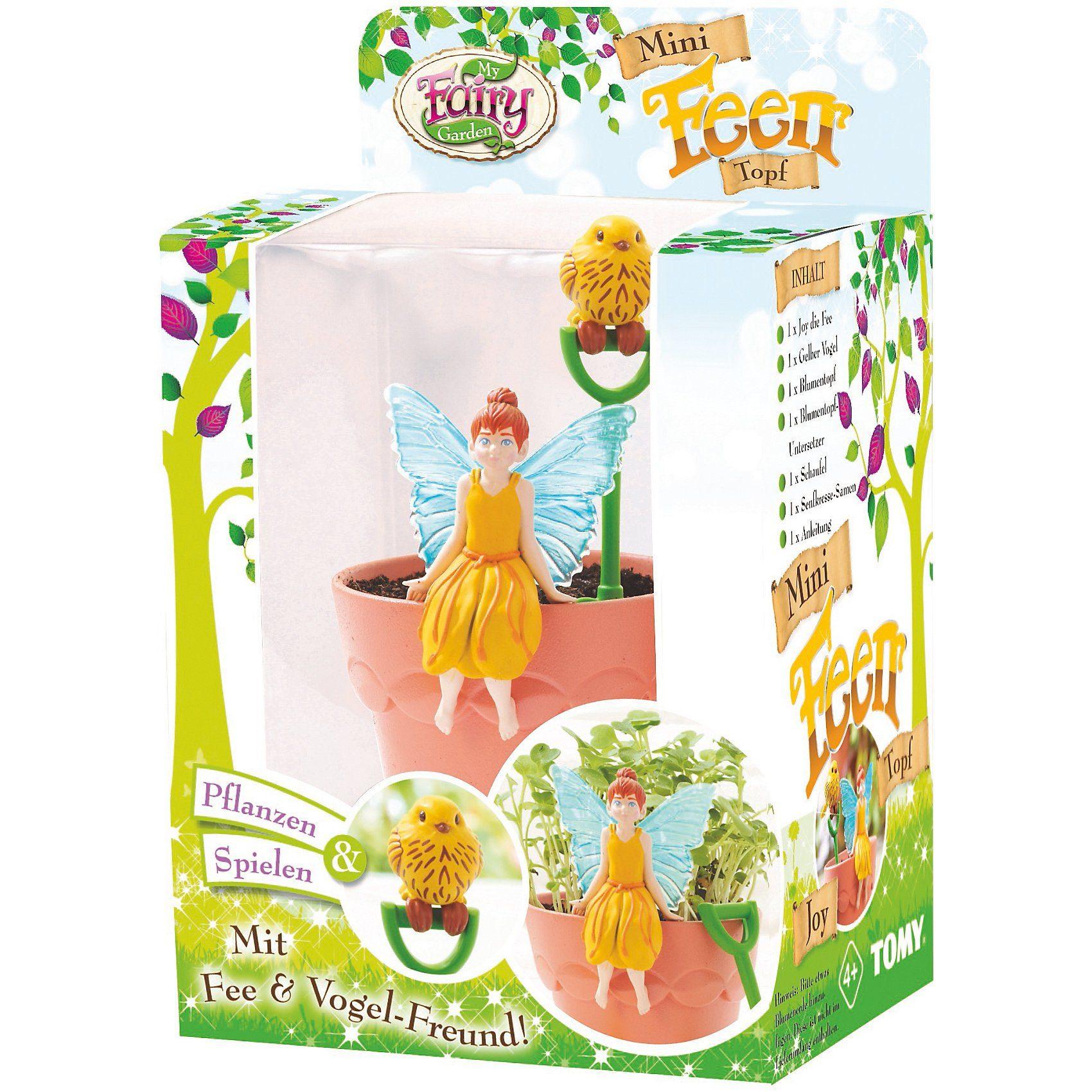Tomy® My Fairy Garden - Mini Feen Topf Joy