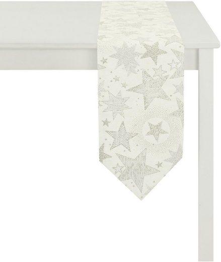 APELT Tischband »2606 Christmas Elegance, Jacquard« (1-tlg)