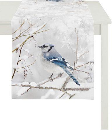 APELT Tischläufer »1107 Winterwelt, Digitaldruck« (1-tlg)