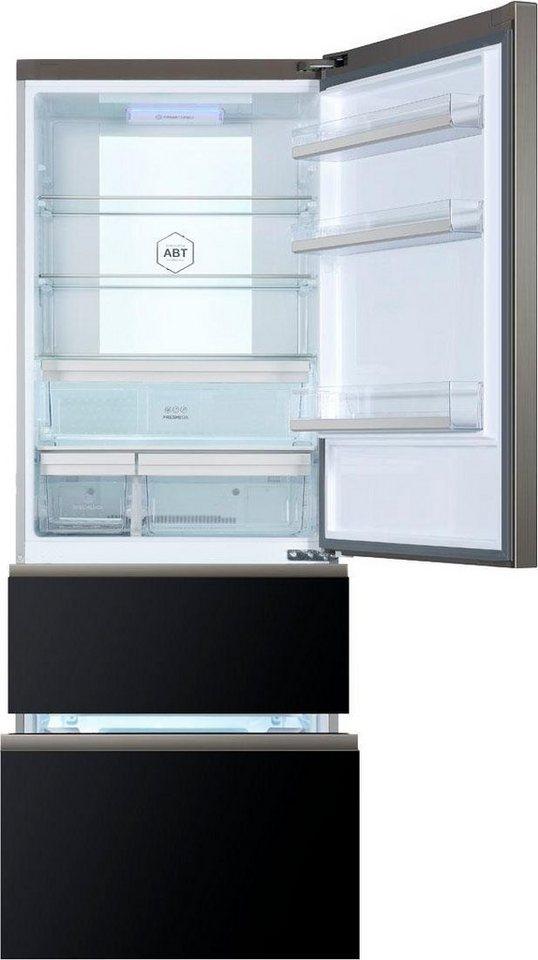 haier k hl gefrierkombination 3d a3fe742cgbj 190 cm hoch 70 cm breit online kaufen otto. Black Bedroom Furniture Sets. Home Design Ideas