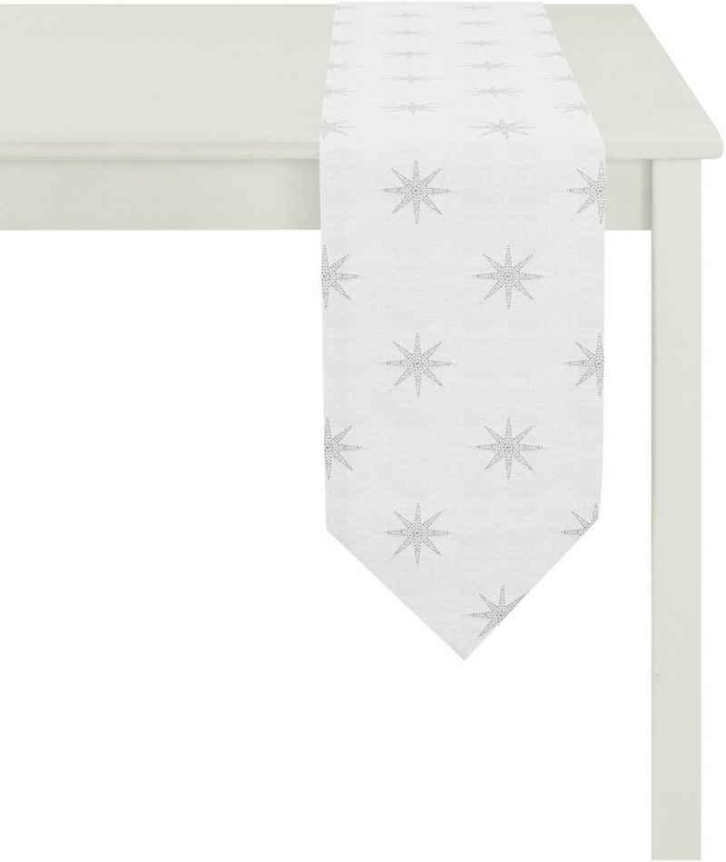 APELT Tischband »2607 Christmas Elegance, Jacquard« (1-tlg)