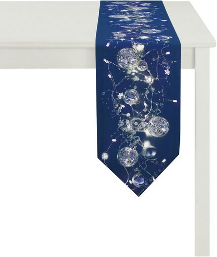 APELT Tischband »2601 Christmas Elegance, Digitaldruck« (1-tlg)