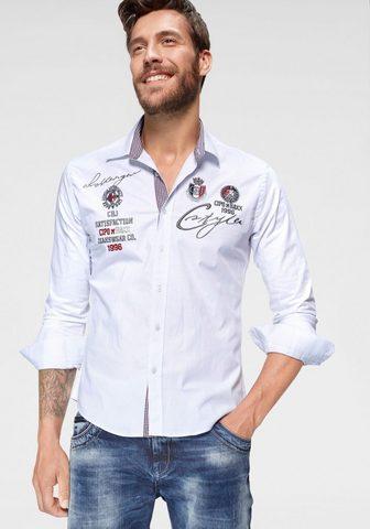 CIPO & BAXX Cipo & Baxx рубашка с длинными рук...