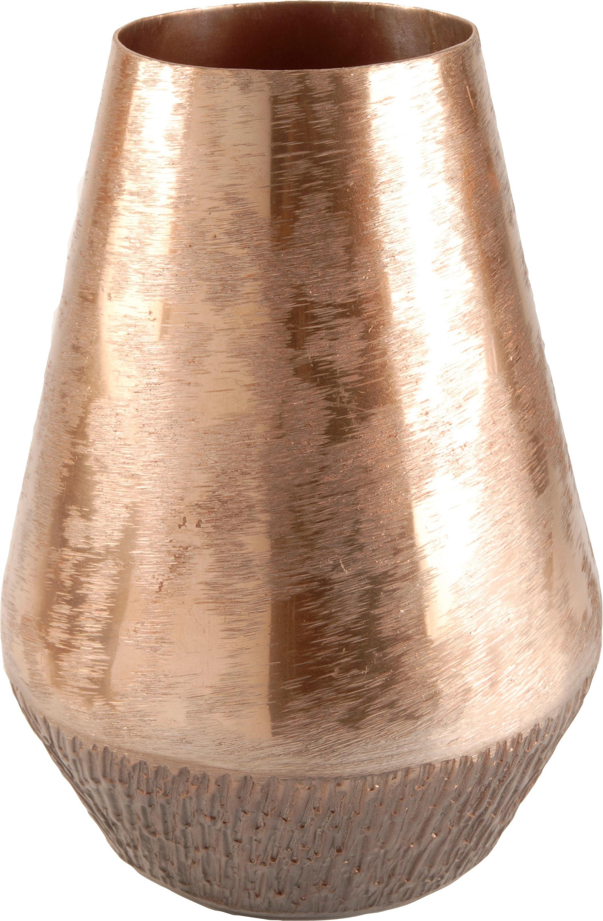 Home affaire Vase aus Aluminium