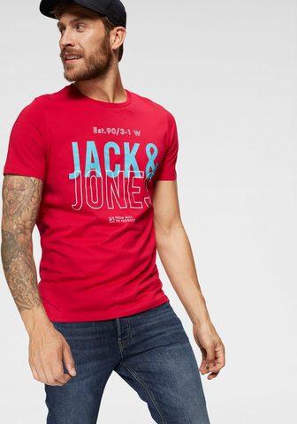 JACK & JONES Jack & Jones Marškinėliai »KOMPO TEE«