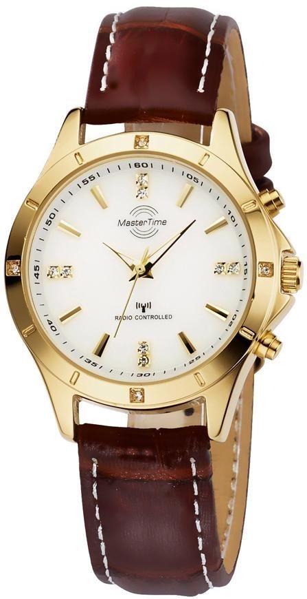 MASTER TIME Funkuhr »MTLA-10339-11L« | Uhren > Funkuhren | Braun | MASTER TIME