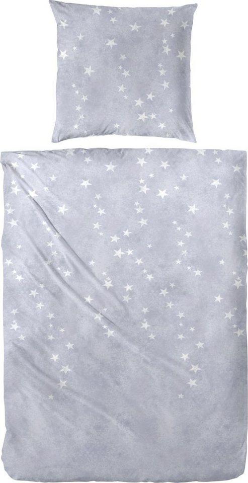 sternen bettwsche grau aus grau online bestellen von sternen bettwsche tchibo photo with. Black Bedroom Furniture Sets. Home Design Ideas