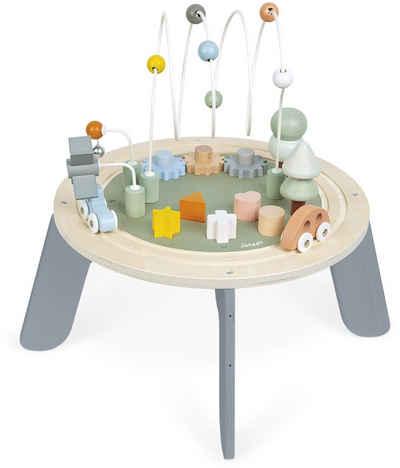 Janod Spieltisch »Sweet Cocoon«, mit 5 Funktionen; FSC®-Holz aus gewissenhaft bewirtschafteten Wäldern