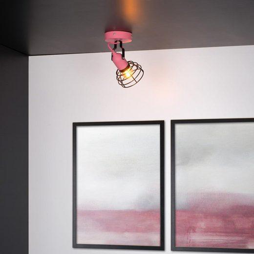 click-licht Deckenspot »Spot Pola in Rosa E27«, Deckenstrahler, Deckenspot, Aufbaustrahler
