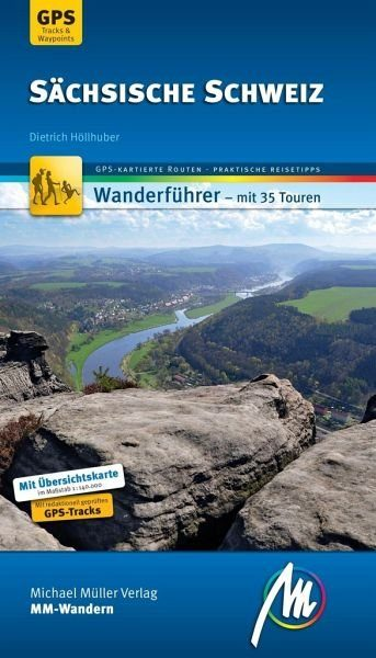 Broschiertes Buch »Sächsische Schweiz MM-Wandern«