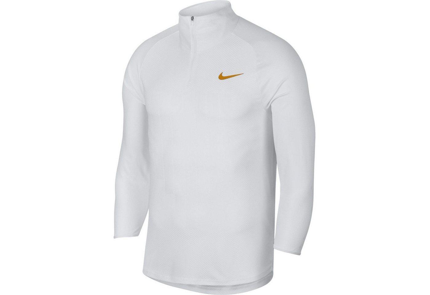 Nike Tennisshirt »WB Shared & Dimitrov« | Sportbekleidung > Sportshirts > Tennisshirts | Weiß | Polyester - Elastan | Nike