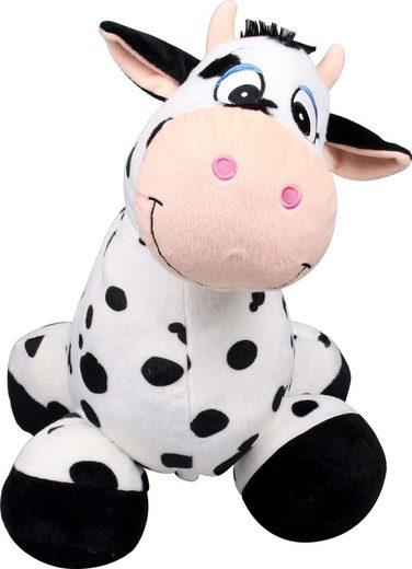 inflate-a-mals Kuscheltier zum Aufblasen, Aufsitz-Tier Kuh »Ride On Cow«