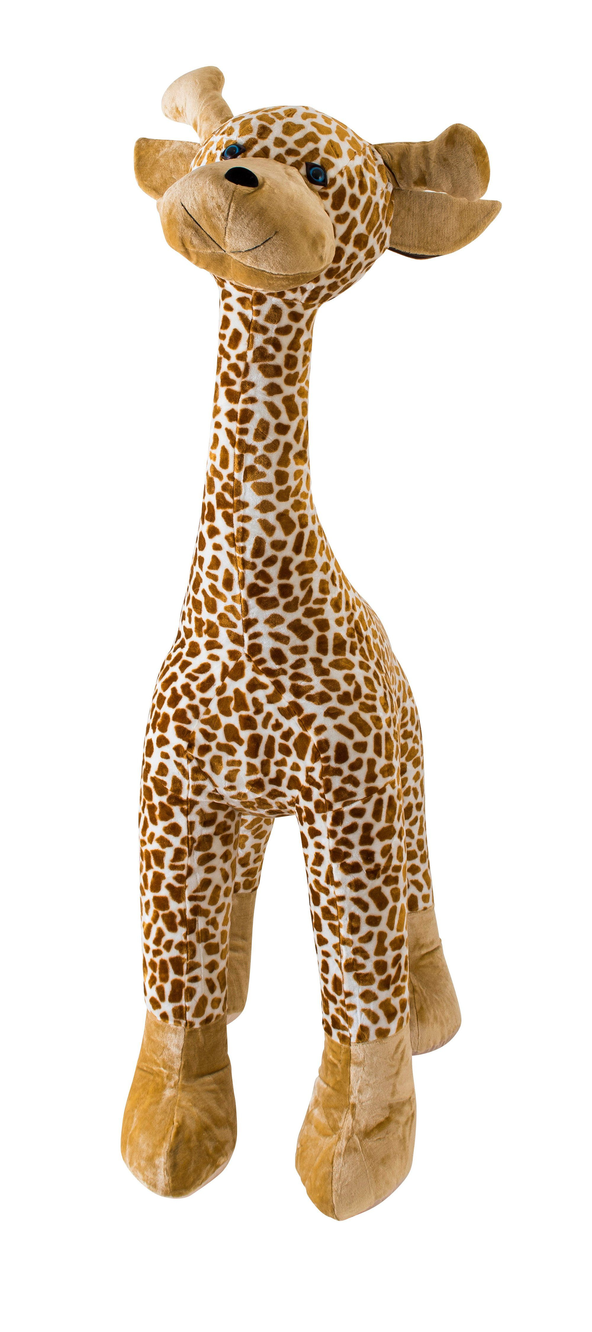 inflate-a-mals Großes Kuscheltier zum Aufblasen, Spielfreund Giraffe »My Giraffe Pal«