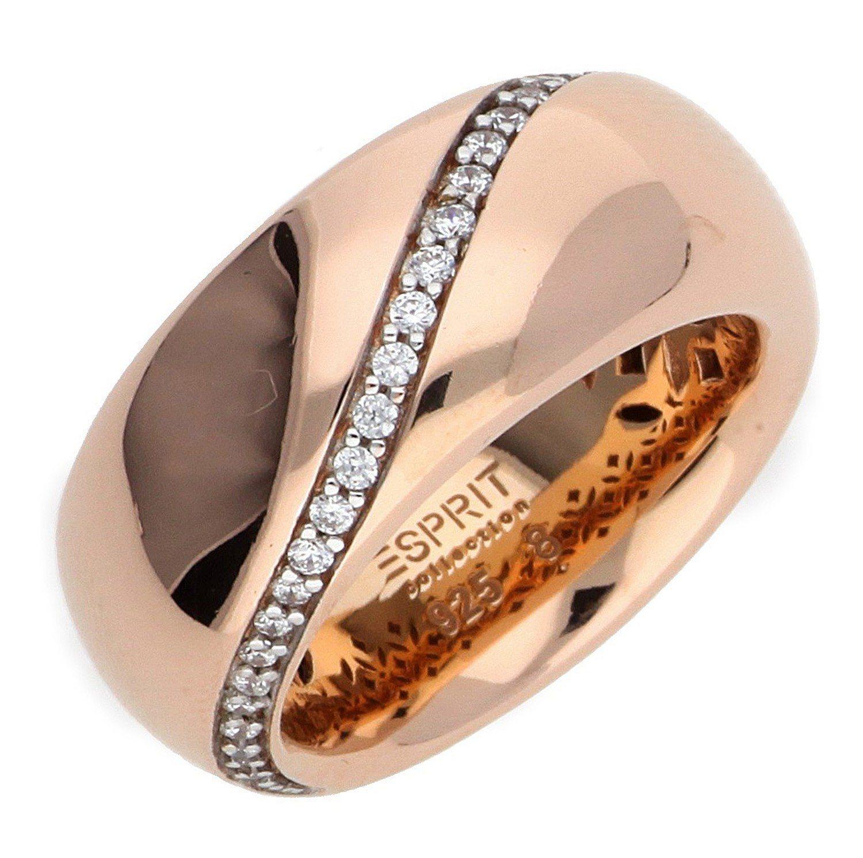 Esprit Fingerring »Danae ELRG92308B« | Schmuck > Ringe > Fingerringe | Silber | Esprit