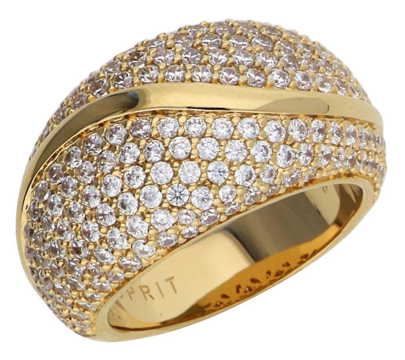 Esprit Fingerring »Atropia ESRG02844B« | Schmuck > Ringe > Fingerringe | Goldfarben | Esprit