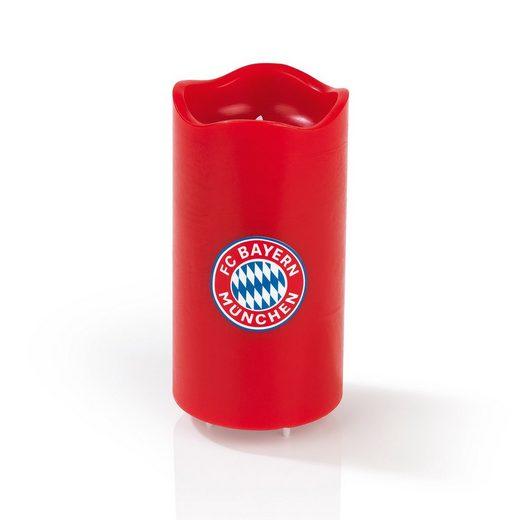 FC Bayern LED-Kerze, LED Echtwachskerze