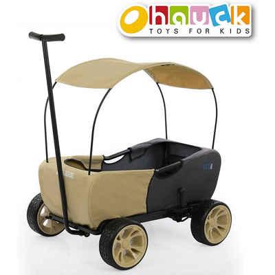 hauck TOYS FOR KIDS Bollerwagen »Bollerwagen Eco Mobil, Safari, faltbar«