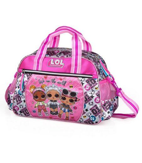 LOL Surprise Sporttasche »LOL Surprise - Sporttasche, 38x27x17 cm« (Reißverschluss, Mädchen), Geringes-Gewicht