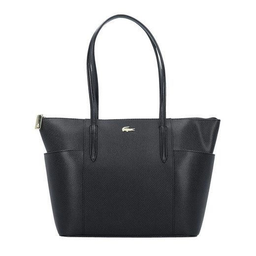 Lacoste Chantaco Shopper Tasche Leder 28 cm