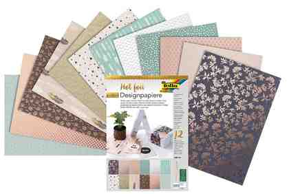 Folia Designpapierblock