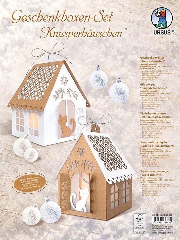 """URSUS Geschenkboxen-Set """"Knusperhäuschen"""" für 6 Boxen online kaufen"""