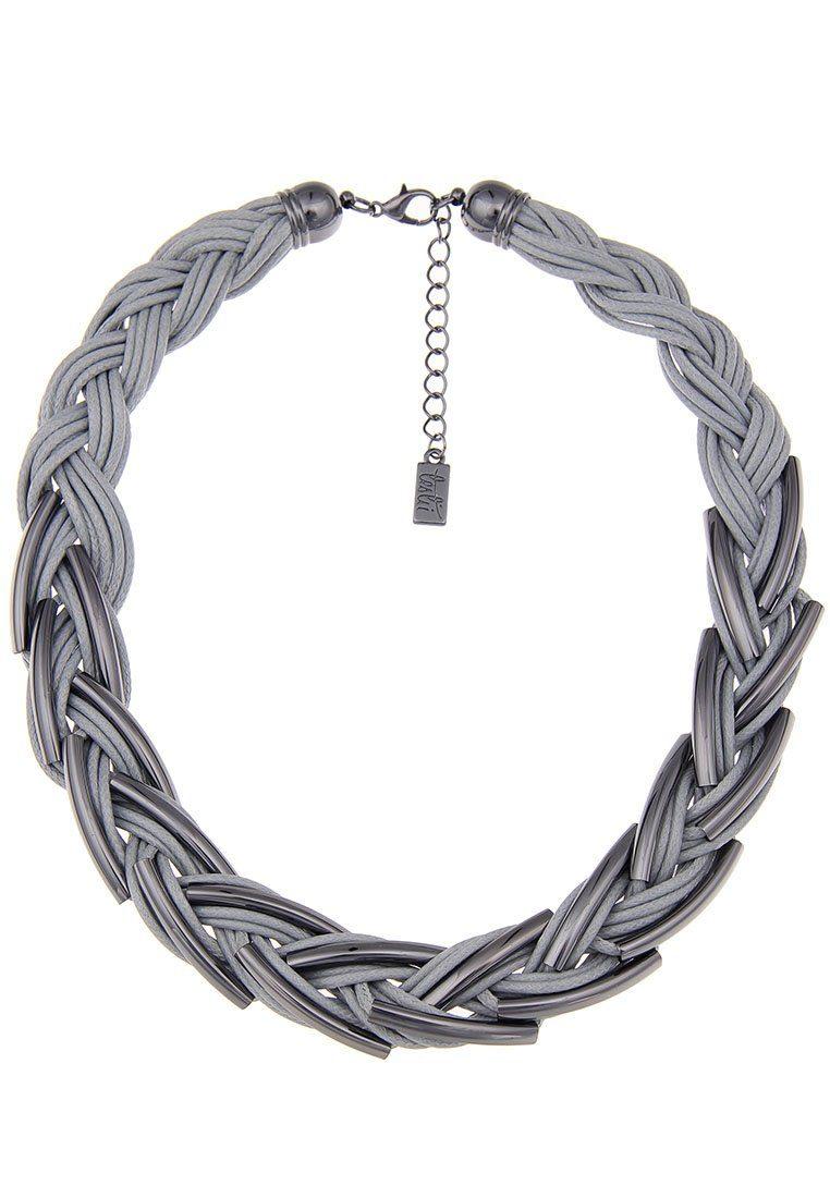 Leslii Halskette in moderner Flecht-Optik