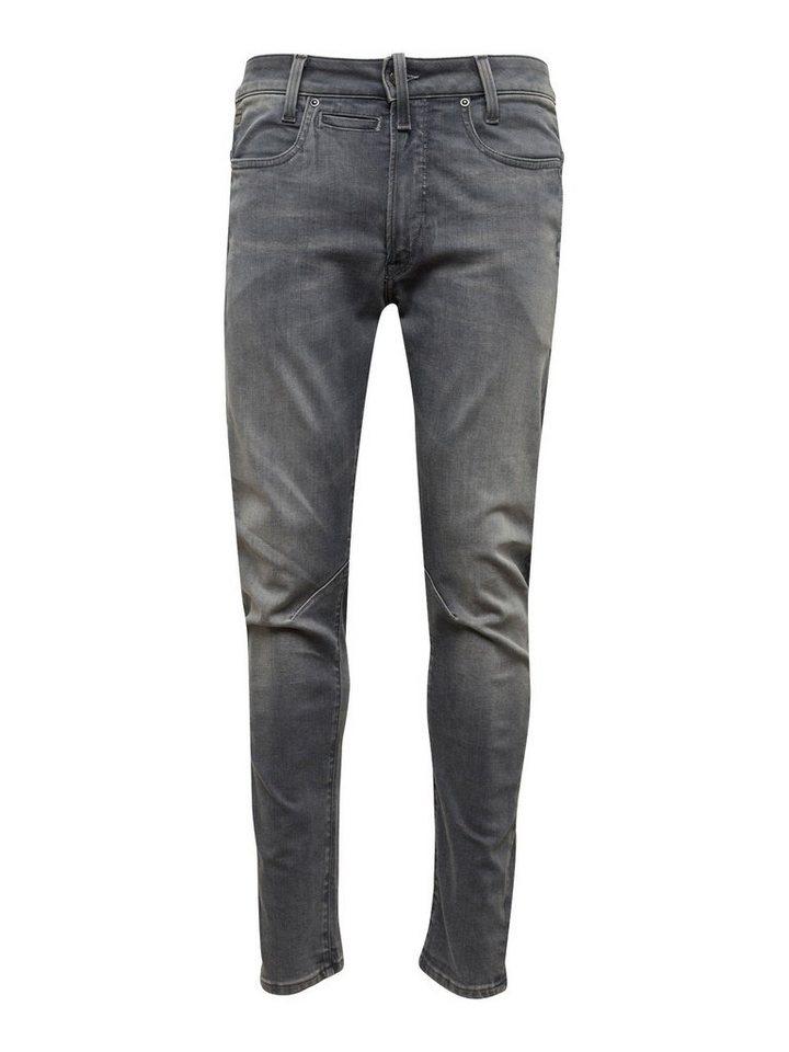 Herren G-Star RAW Skinny-fit-Jeans D-Staq 3D grau | 08719369390425