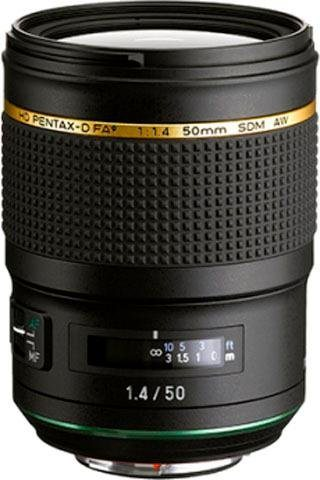 Objektive - PENTAX Premium »50 mm 1.4 HD D FA* SDM AW« Festbrennweiteobjektiv  - Onlineshop OTTO