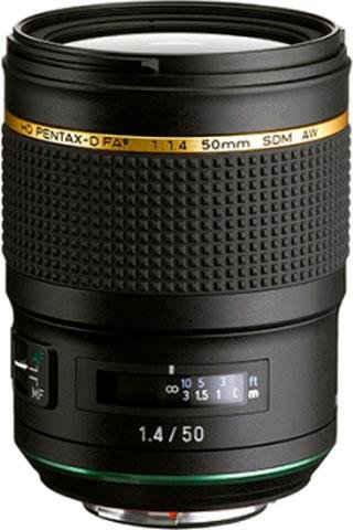 PENTAX Premium »50 mm / 1.4 HD D-FA* SDM AW« Festbrennweiteobjektiv