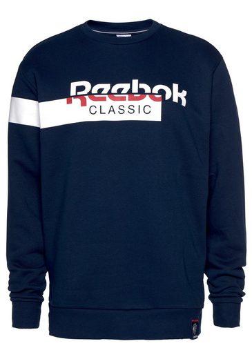 »ac Classic F Crew« Dis Reebok Fleece Sweatshirt wfq6POqaE