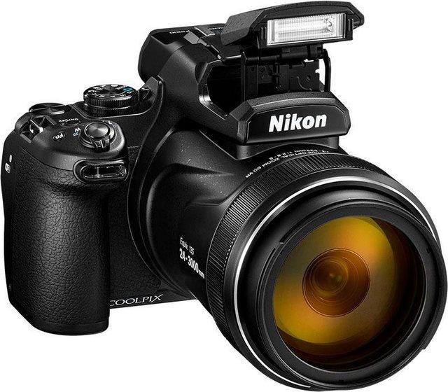 Digitalkameras - Nikon »Coolpix P1000« Superzoom Kamera (NIKKOR, 16 MP, 125x opt. Zoom, WLAN (Wi Fi), Bluetooth)  - Onlineshop OTTO
