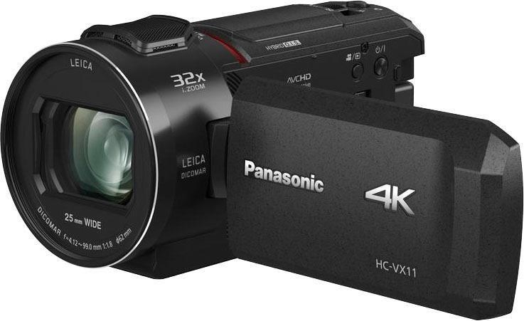 Camcorder - Lumix Panasonic »HC VX11EG K« Camcorder (4K Ultra HD, WLAN (Wi Fi), 24x opt. Zoom)  - Onlineshop OTTO