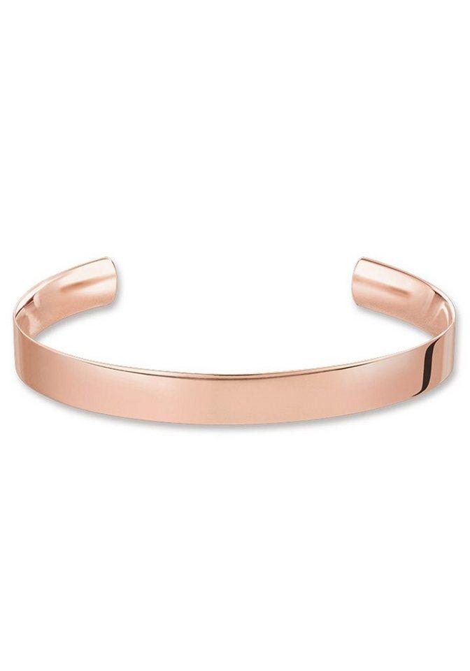 THOMAS SABO Armspange »AR088-415-12-M, L, XL, Love Cuff«   Schmuck > Armbänder > Armspangen   Goldfarben   THOMAS SABO
