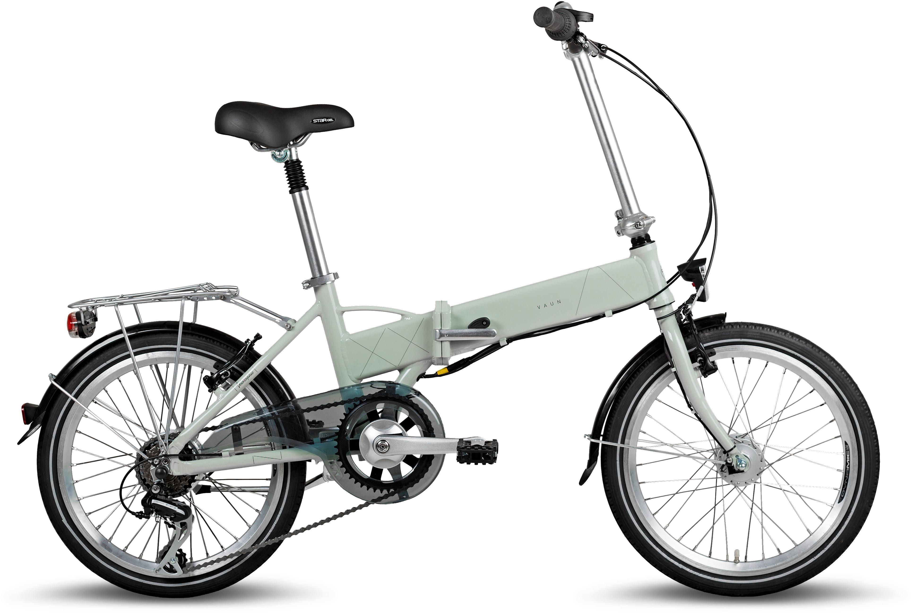 Vaun E-Bike, 6 Gang Shimano Shimano Acera Schaltwerk, Kettenschaltung, Heckmotor 250 W
