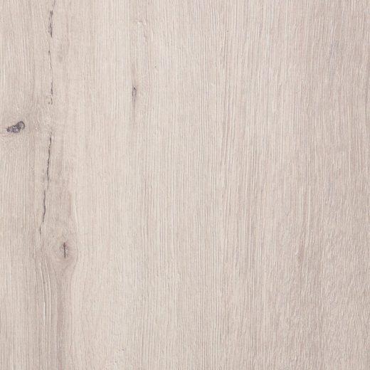 BODENMEISTER Packung: Laminat »Dielenoptik Eiche hell weiß«, Landhausdiele 217 x 24 cm