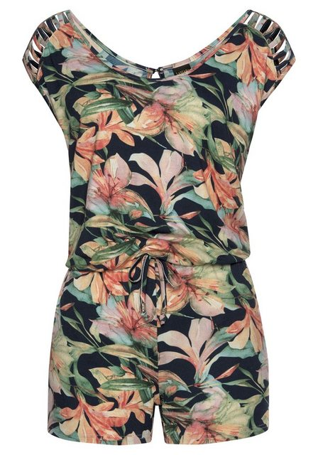 LASCANA Strandoverall mit tollen Schulterdetails | Bekleidung > Bademode > Strandbekleidung | Lascana