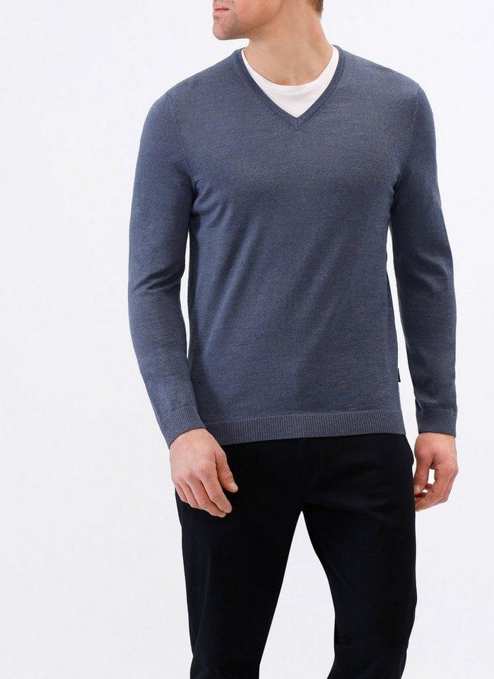MAERZ Muenchen V-Ausschnitt-Pullover »Summer Merino« in Modern Fit ... f6e0eade29