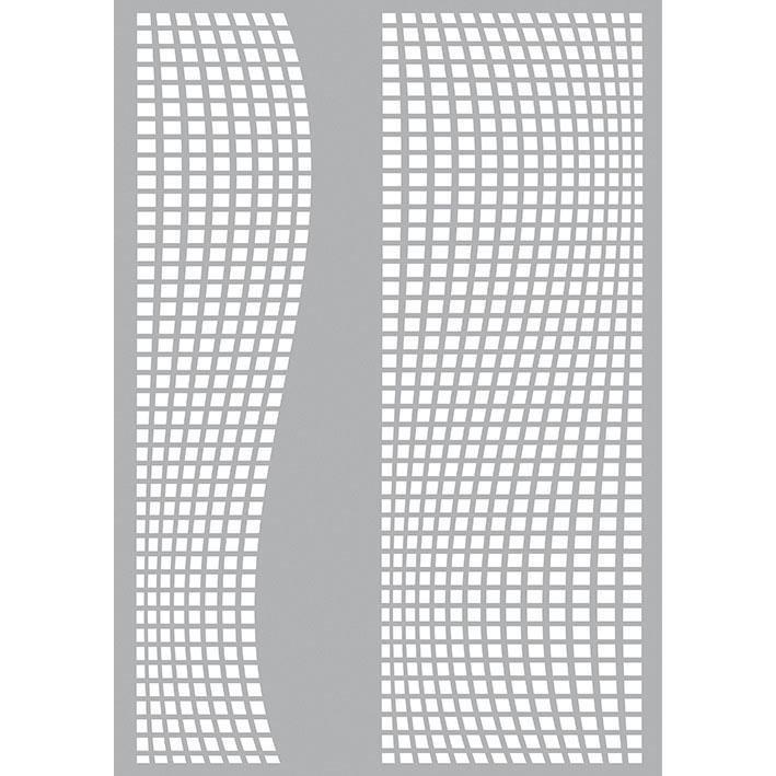 """Schablone """"Waves"""" DIN A4 Fomrat online kaufen"""