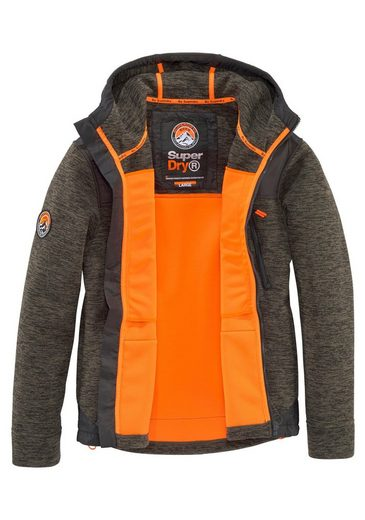 Softshelljacke Superdry Ziphood« Softshelljacke Superdry »mountain wrFzwEqSx