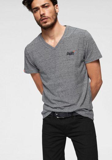 Superdry V-Shirt »VINTAGE EMB S/S VEE TEE«